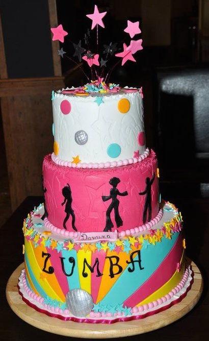 zumba-cake